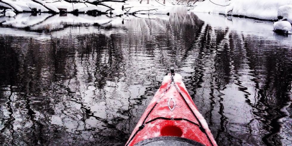 Winter Paddling