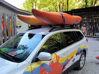 Loading Kayaks On Your Vehicle Dagger Kayaks Usa