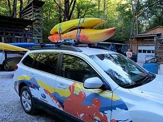 Loading Kayaks On Your Vehicle Dagger Kayaks Usa