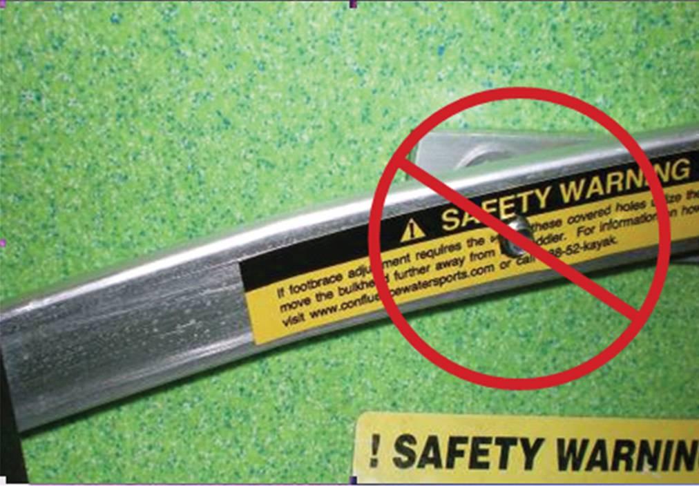 Bulkhead Adjustment for Safety and Comfort | Dagger Kayaks