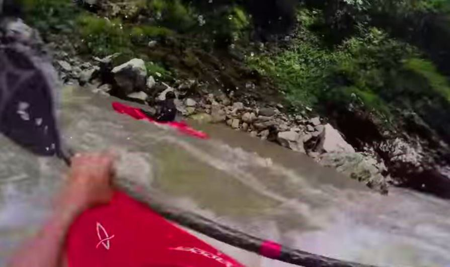 Tyler Bradt explores whitewater in remote jungle river
