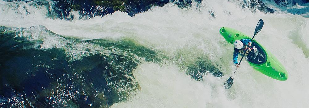 Whitewater Creeking Kayak Header Image