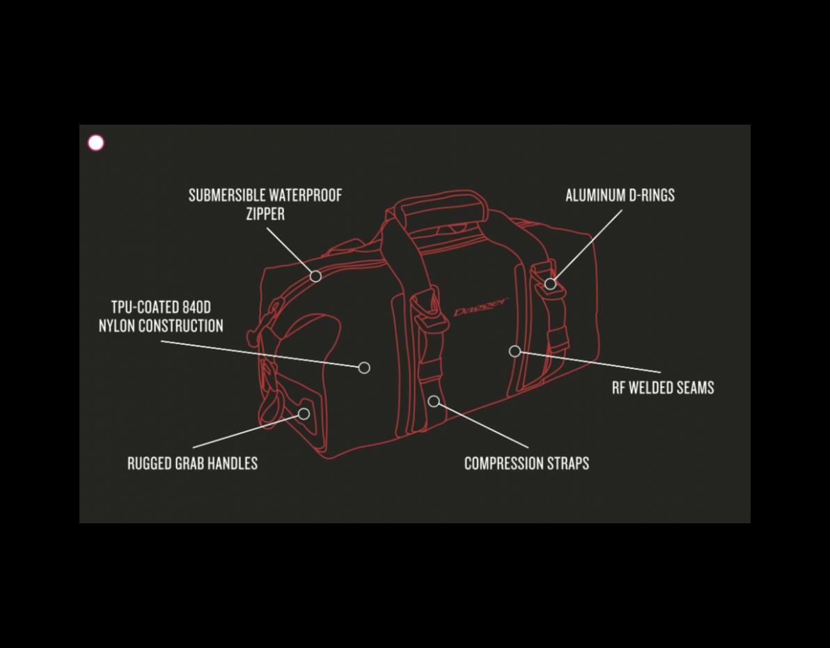 On-Tap Duffel Dry Bag - 15L