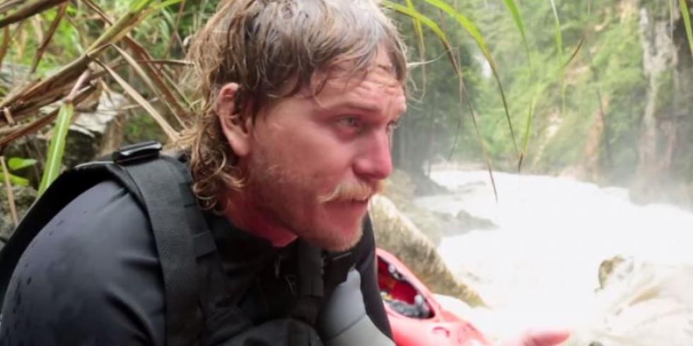 Tyler Brady explores whitewater in remote jungle river